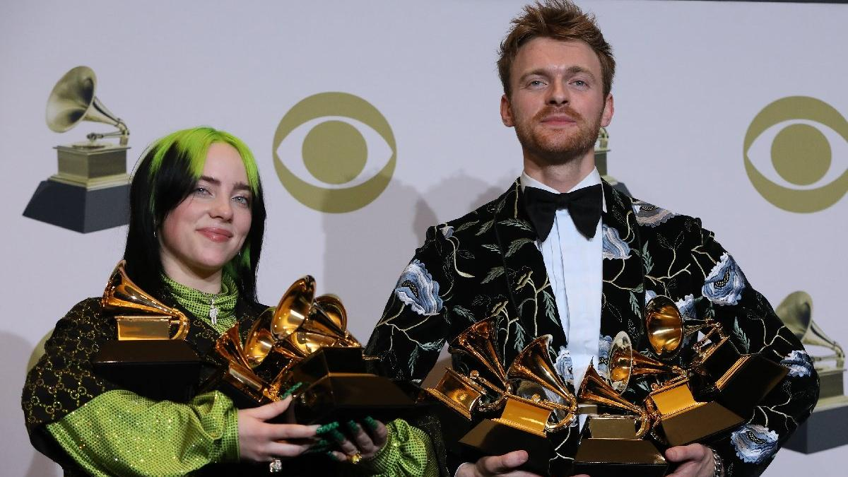 2020 Grammy Ödülleri'ne Billie Eilish damga vurdu