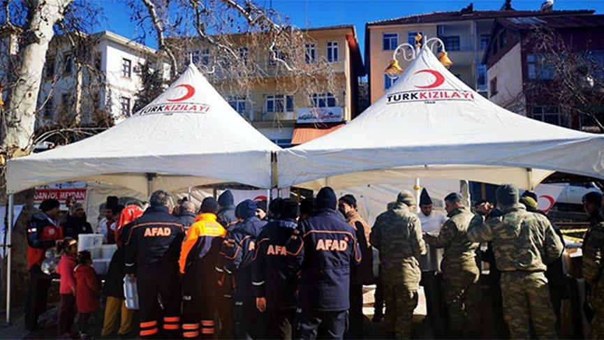 AFAD Elazığ ve Malatya'da çalışmaları tamamlandı! İşte toplanan bağış miktarı