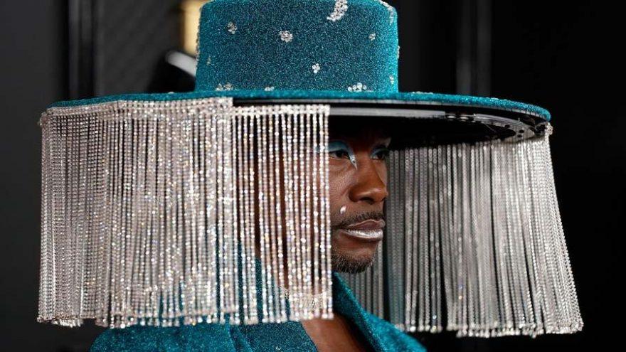 Billy Porter'ın 62. Grammy Ödülleri'ndeki şapkası gündem oldu