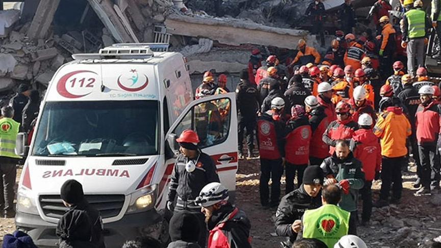 AFAD açıkladı: 1025 artçı deprem oldu!