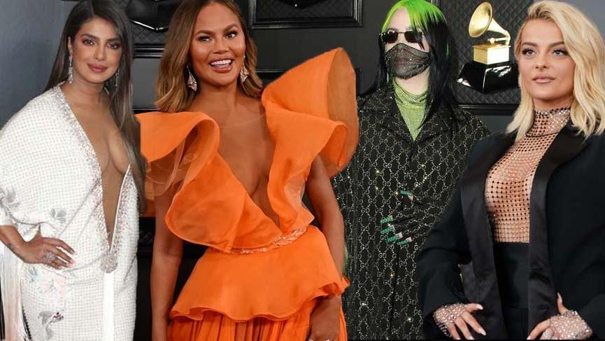 62. Grammy Ödülleri kırmızı halısı