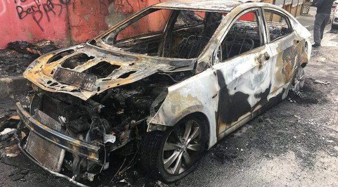 İstanbul'da araçları yakan şahsın görüntüleri yayınlandı!