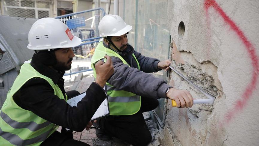 Elazığ'da hasar tespit çalışmaları başladı!