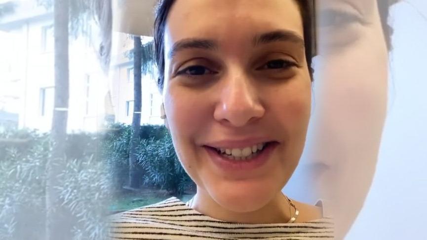 Bergüzar Korel'den 'Mutlu son' videosu
