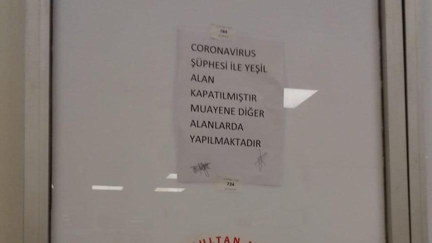 İstanbul'da Corona virüsü şüphesi! Başhekimlikten açıklama