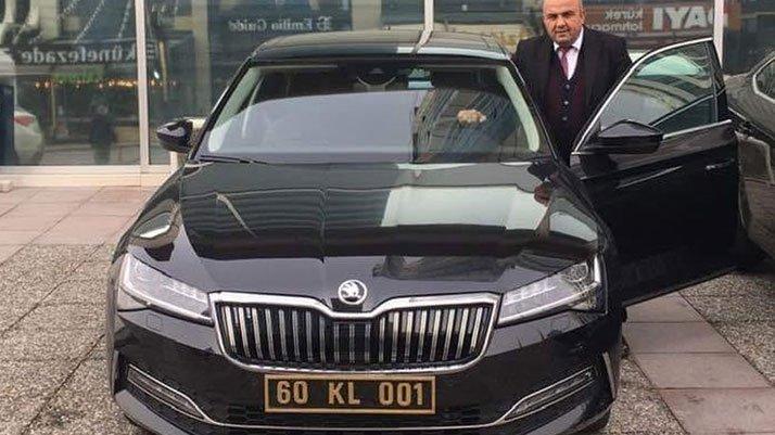 İş adamından MHP'li başkana 450 bin liralık makam otosu