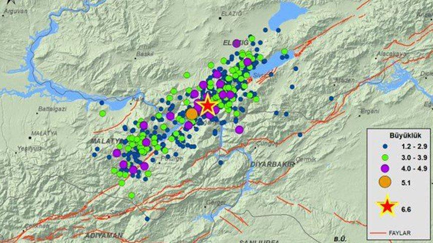 Elazığ Depremi'nden bugüne 717 artçı deprem meydana geldi