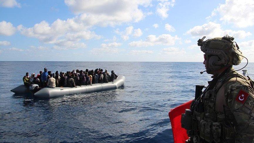 Libya Sahili'nde 30 düzensiz göçmen kurtarıldı