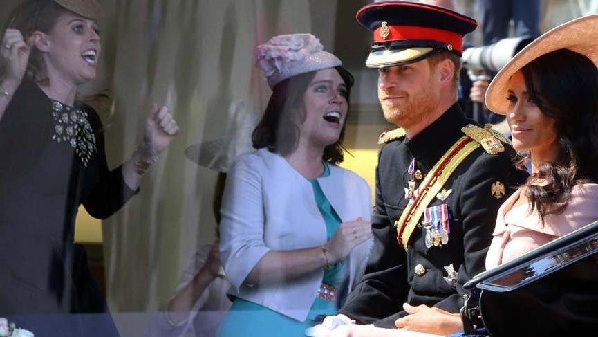 Meghan Markle ve Prens Harry'nin görevlerini artık Prenses Eugenie ve Prenses Beatrice üstleniyor