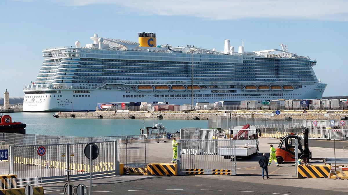 Dev kruvaziyer gemisinde corona paniği!