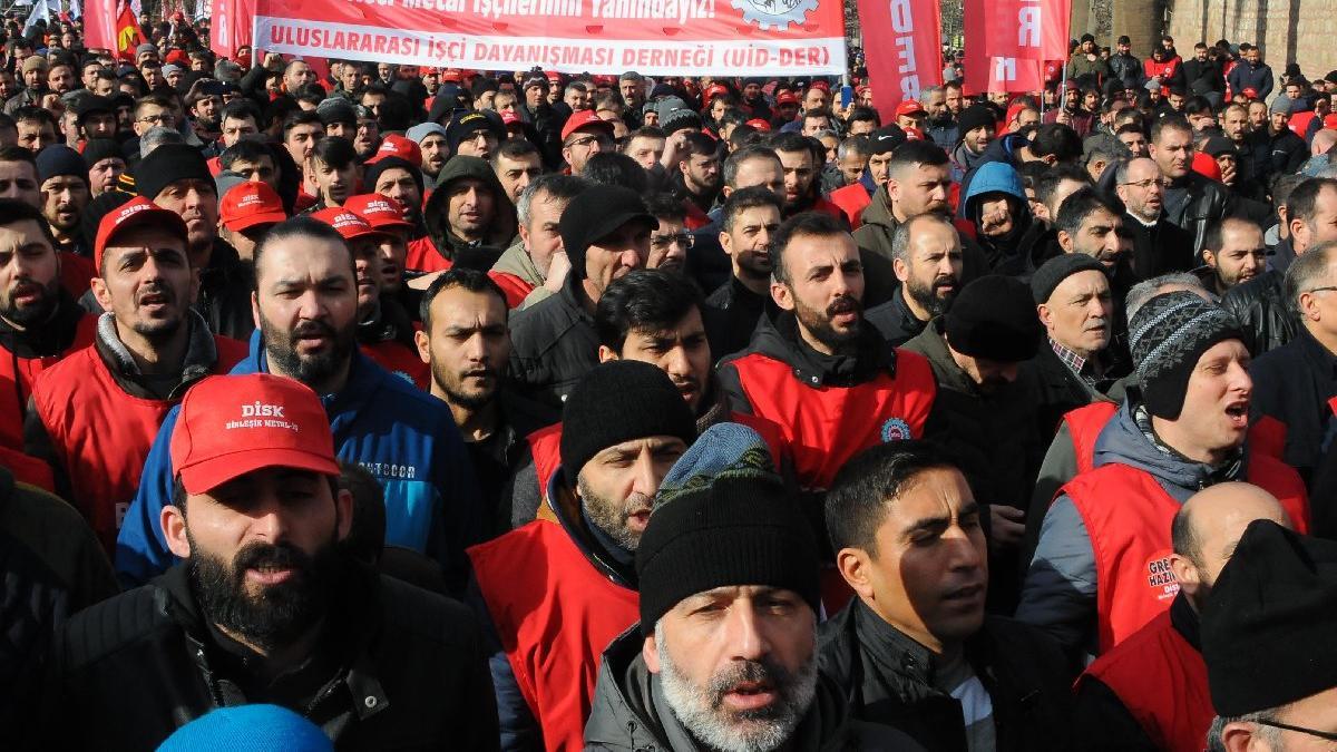 10 bin metal işçisi 5 Şubat'ta greve gidiyor!