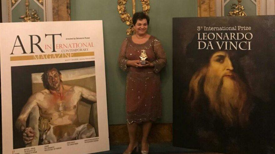 Türk sanatçı Şenay Lüle'ye Leonardo da Vinci ödülü