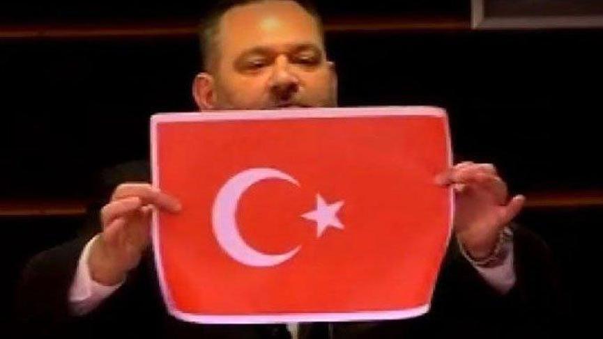 TBMM'de Yunan vekile 'bayrak' tepkisi: Bu edepsizlik asla kabul edilemez