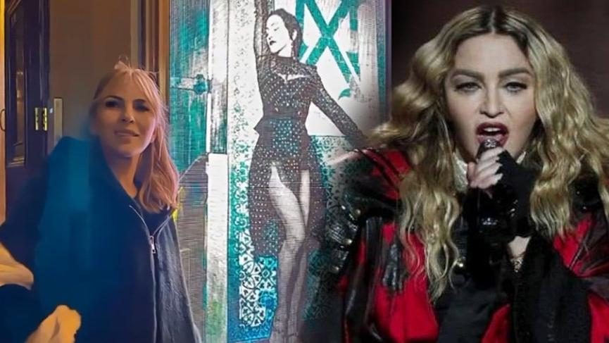 Madonna, konserde cep telefonlarını toplattı