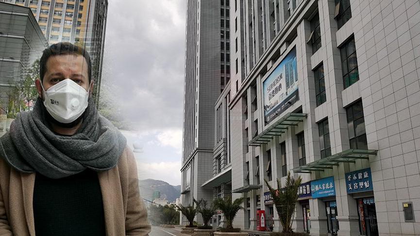 'Corona virüsünün ortaya çıktığı kentte yaşayan Türk oyuncu merak edilenleri anlattı