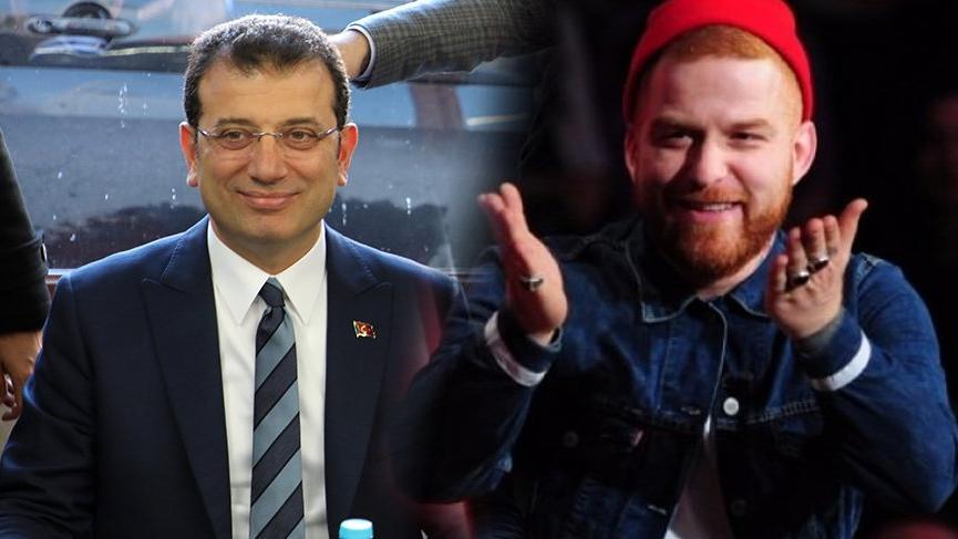 Gökhan Özoğuz'dan Ekrem İmamoğlu'na destek