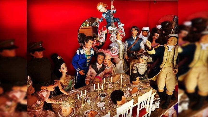 Barbie'nin bütün modelleri bakın kimde?