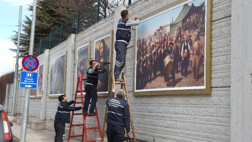 Eskişehir'de sanat sokaklara taştı