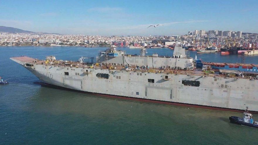 TCG Anadolu gemisinin özellikleri neler? İşte Türkiye'nin ilk uçak gemisi TCG Anadolu hakkında merak edilenler…