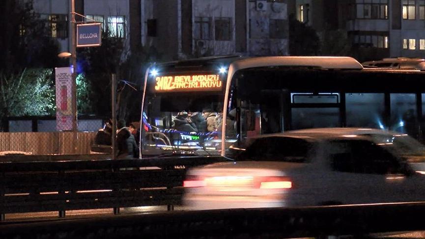 Metrobüste 11 yaşındaki çocuğa taciz iddiası