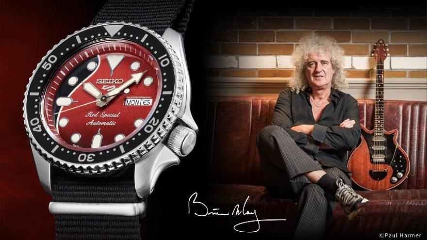 Seiko 5 Sports, Brian May'in efsanevi gitarı 'Red Special'ı anıyor!