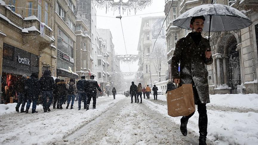 İstanbul 3 gün kar ve fırtınanın etkisinde kalacak