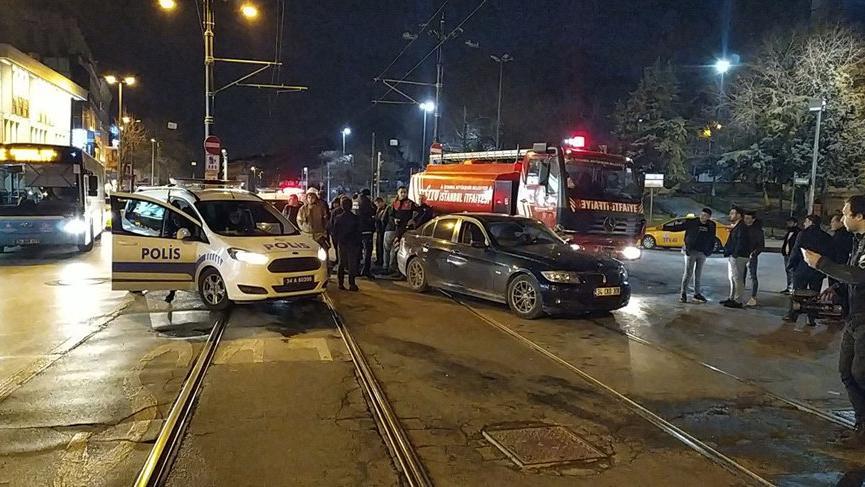 Son dakika... İstanbul'da kaza! Tramvay seferleri aksıyor