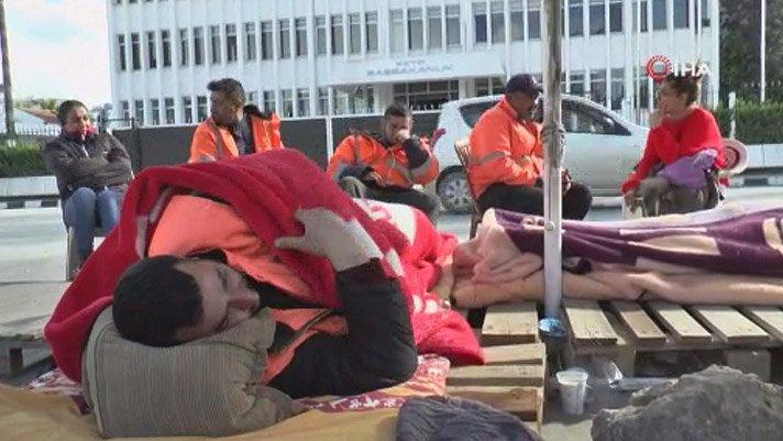 KKTC'de CAS çalışanları ölüm orucuna başladı!
