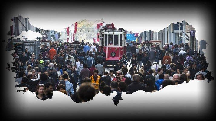 Türkiye'nin nüfusu (2020) belli oldu
