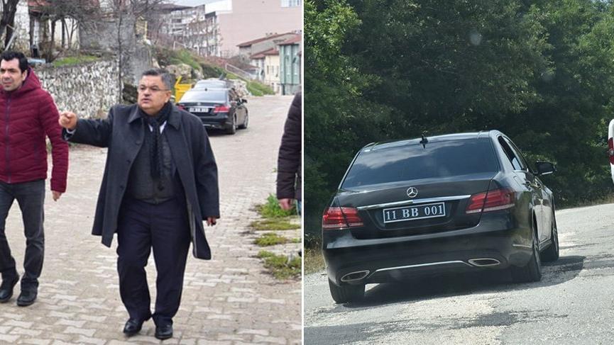 Sahte denilen plakayı AKP'li başkan taktırmış