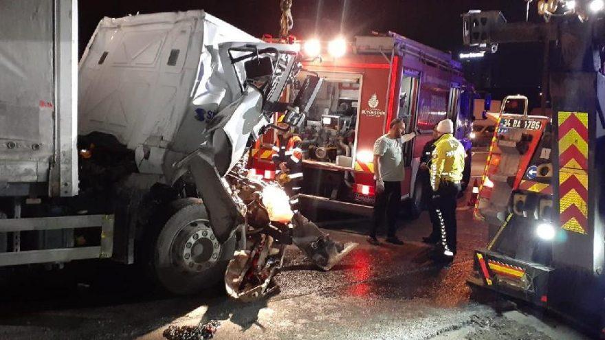 TEM Otoyolu'nda feci kaza: Bir kişi öldü
