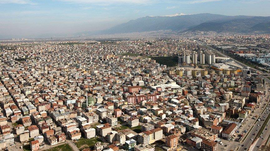 Binaların yarıdan fazlasının kaçak olduğu Bursa'da, deprem eylem planı hazırmış