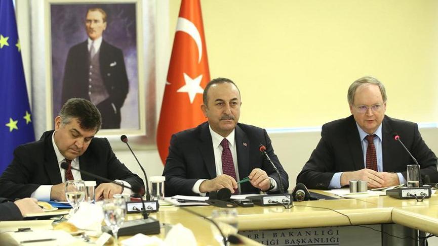 Çavuşoğlu: AB'nin Doğu Akdeniz'de karar verme yetkisi yok