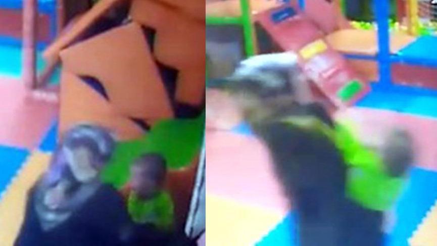 Kreş öğretmeni 2 yaşındaki çocuğu dövdü