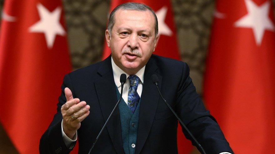 Cumhurbaşkanı Erdoğan'dan uçak kazası açıklaması!