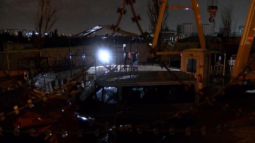 Son dakika... Metro tünel inşaatında kaza: 2'si ağır 4 yaralı
