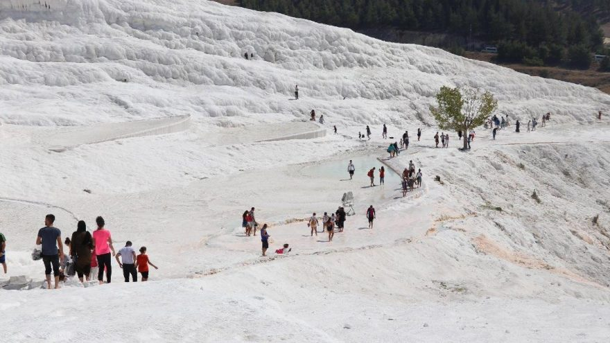 Beyaz cennet, ziyaretçi sayısında 2'nci sıraya yerleşti