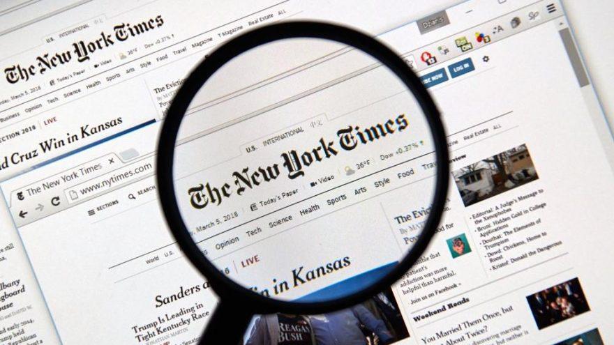 New York Times 10 yıl sonra zam yaptı