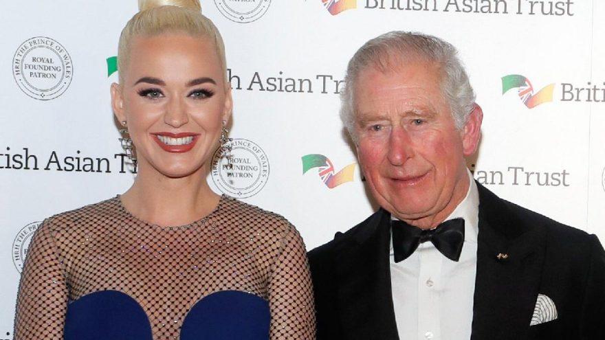 Katy Perry Prens Charles tarafından İngiltere-Asya yardım elçisi ilan edildi