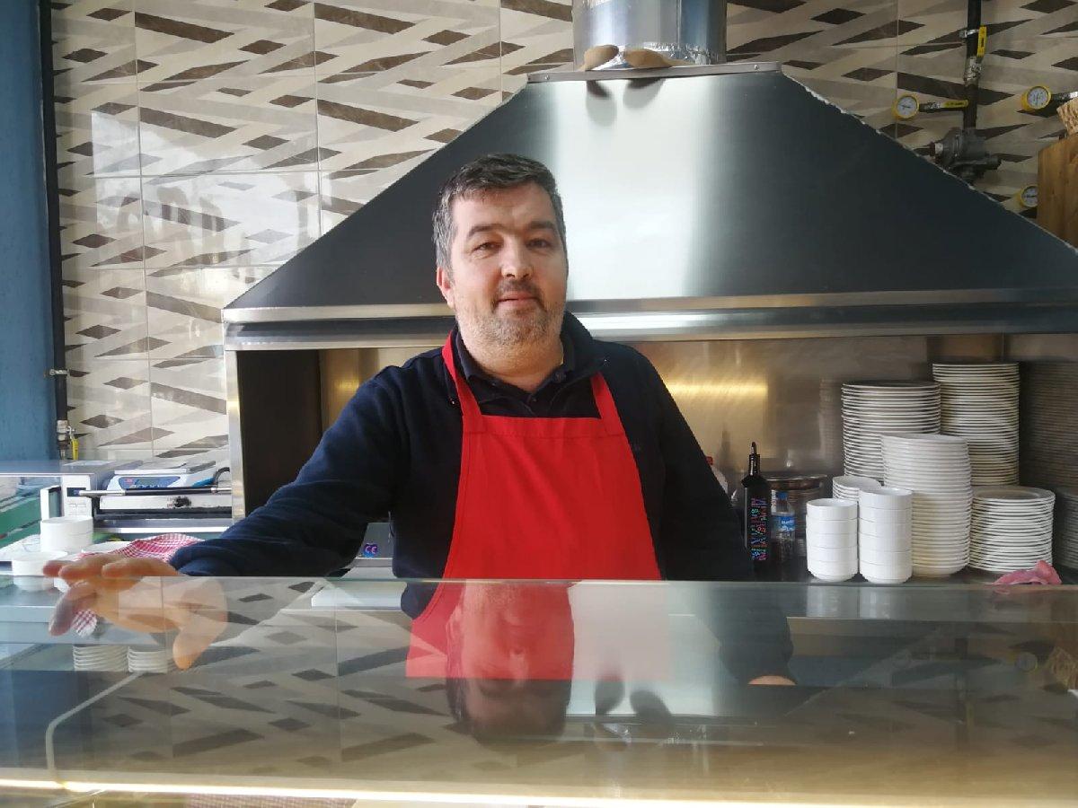 Bursa'da restoran işletmecisi olan Soner Akdağ / (Fotoğraf: SÖZCÜ)