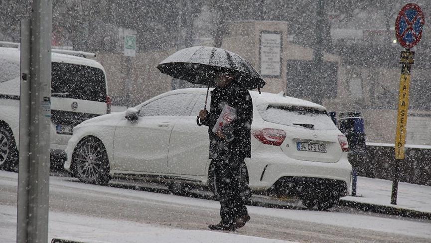 Meteoroloji'den 16 ilde yoğun kar ve çığ uyarısı!