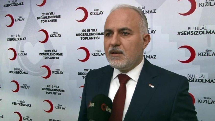 Kızılay Başkanı Kınık'tan Kılıçdaroğlu'na cevap