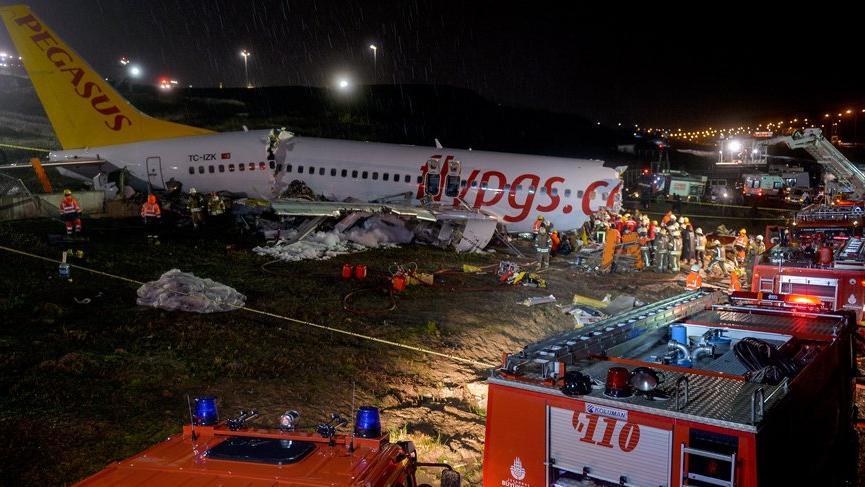 Sabiha Gökçen'deki uçak kazasında son durum açıklandı!