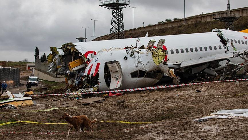 Sabiha Gökçen Havalimanı'ndaki uçak kazasında 2 pilot şüpheli