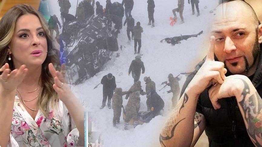 Van'da yaşanan çığ faciasının ardından ünlü isimler sessiz kalmadı