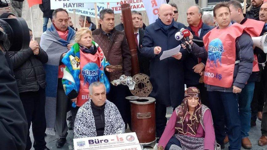 Ankara'da Başkentgaz ve Kızılay protestosu!
