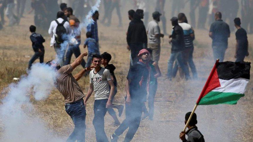 İsrail güçleri, Trump'ın planını protesto eden Filistinliyi öldürdü!