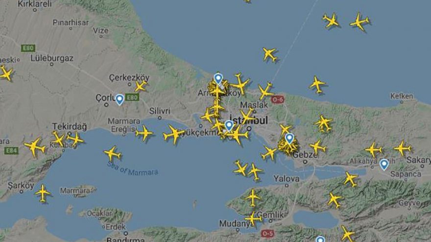 Pegasus'un Madrid ve Bükreş uçakları yoğunluktan Sabiha Gökçen'e inemedi