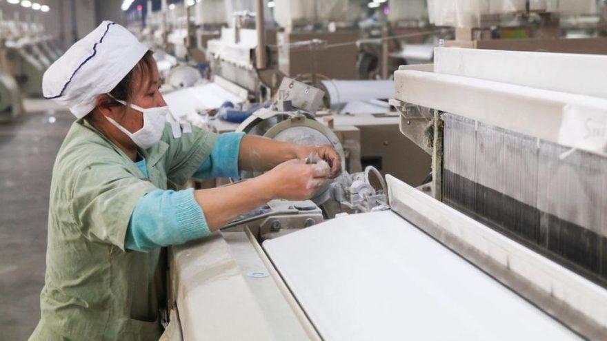 Çin'den tekstilcilere iyi, madencilere kötü haber