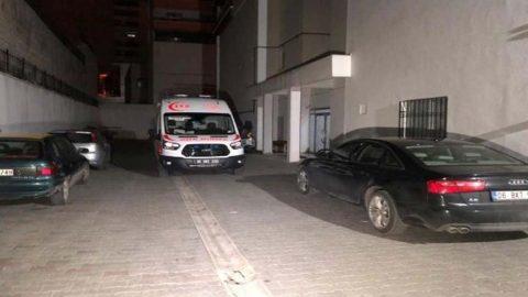 Ankara'da karısını öldürmek isterken kendisi öldü